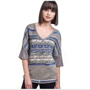 Free People | Voluminous Fairisle Sequin Sweater